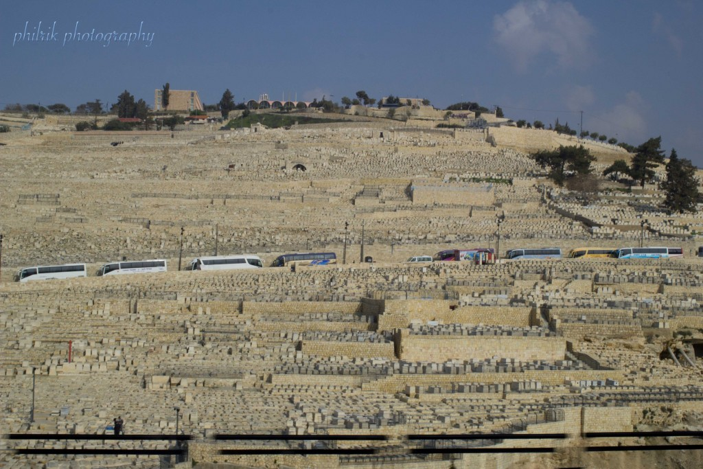 The Mount of Olives from Old Jerusalem
